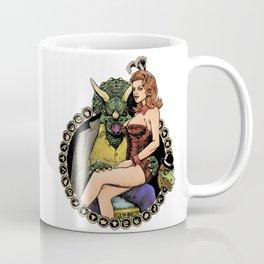 Triceratops Mob Boss Coffee Mug