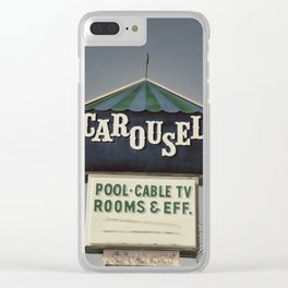 Carousel Clear iPhone Case