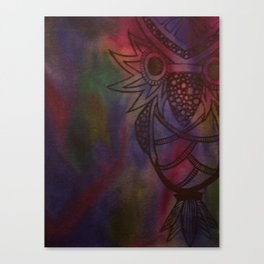 Owl 2009 Canvas Print