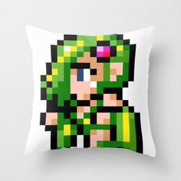 Final Fantasy II - Rydia Throw Pillow