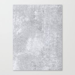 Abstract silver paper Canvas Print