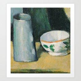 Bowl and Milk-Jug Art Print