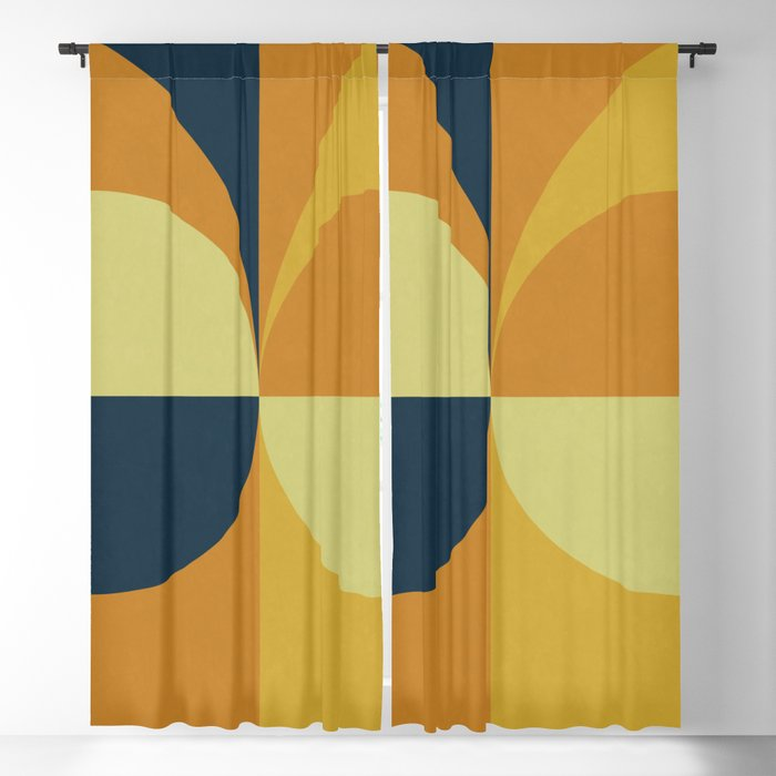 Geometry Games Blackout Curtain