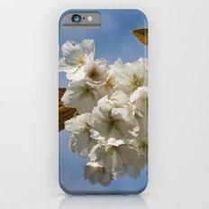 White Cherry Blossom Slim Case iPhone 6s