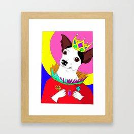 Queen Betsy Framed Art Print