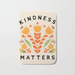 kindness matters Bath Mat