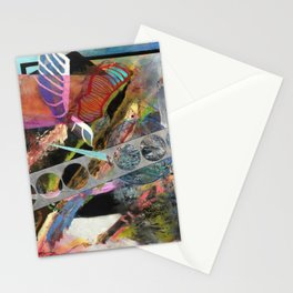 Computers Could Never Do This (oil on canvas) Stationery Cards