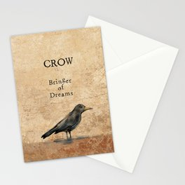 Crow, Message Bringer Stationery Cards