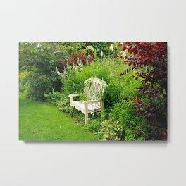 Summer in the garden Metal Print