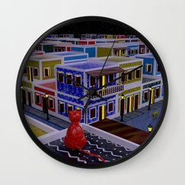 Vejigante City Wall Clock