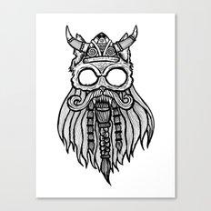 Viking Cat Canvas Print