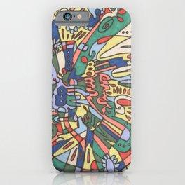 I Found My Friends iPhone Case