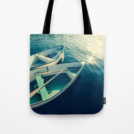 On the Water - Boats Tote Bag