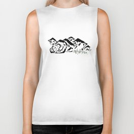 Sleepy Bear Mountain Biker Tank