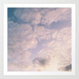Indian Summer Sky Art Print