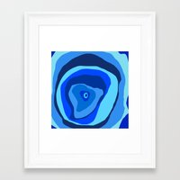 geode Framed Art Prints featuring Geode by Sarah P