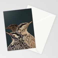 Digital Watercolor Birds Stationery Cards
