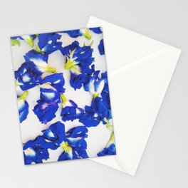 Pea Flower Stationery Cards