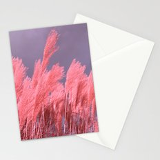 pastel grass Stationery Cards
