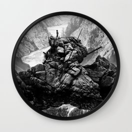 I will come to your river Wall Clock