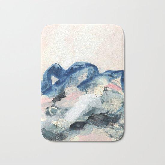 abstract painting II Bath Mat