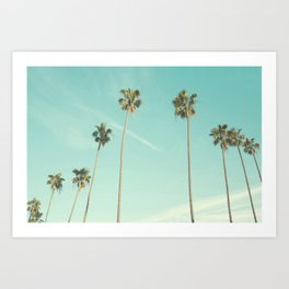 Palm Trees 2 Art Print