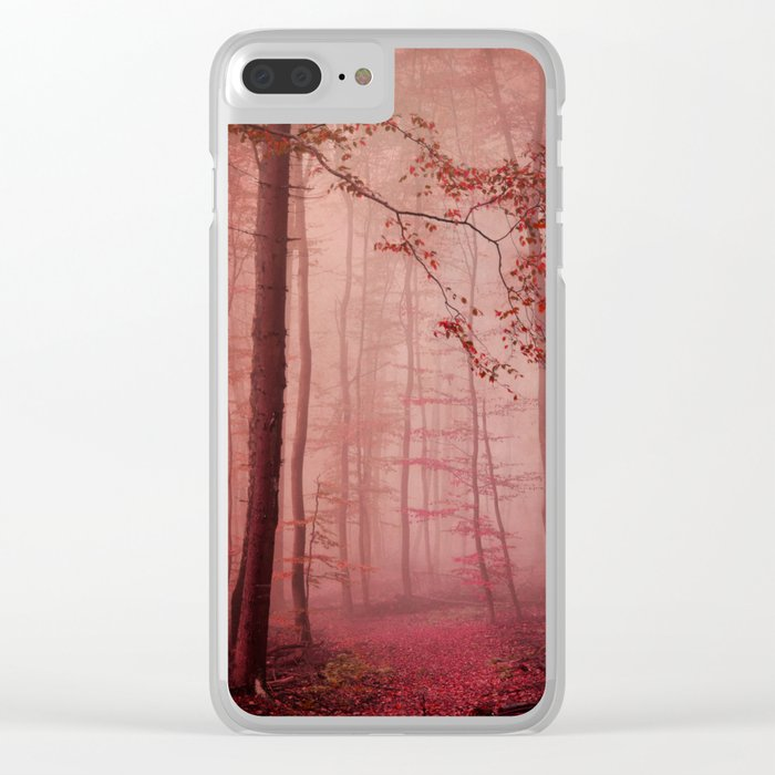 Rose Red's Forest Clear iPhone Case
