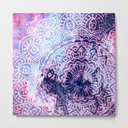 Space mandala 23 Metal Print