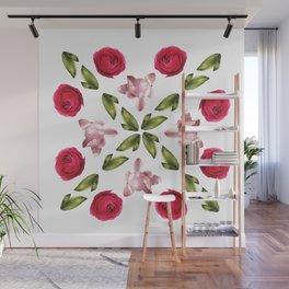 Belle Fleur: Roses Wall Mural