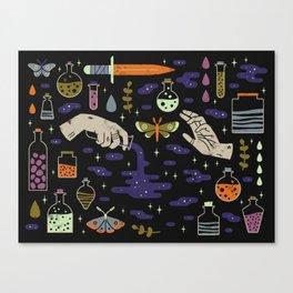 Spooky Horoscopes: Aquarius Canvas Print
