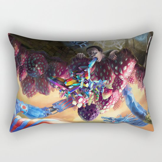 Mushberry Hill Rectangular Pillow