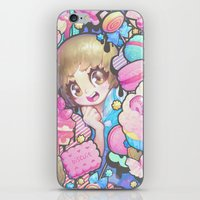 barachan iPhone & iPod Skins featuring makokashi by barachan