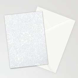 Embossed Powder & Pearl Lace Stationery Cards