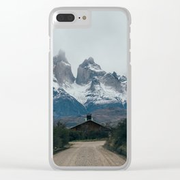 Road to Heaven, Patagonia Chile by Caroline Zhao Clear iPhone Case