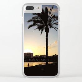 SAN ANTONIO BAY Clear iPhone Case