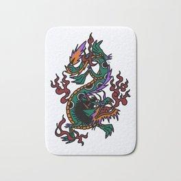 Dragon Tattoo Flash Bath Mat