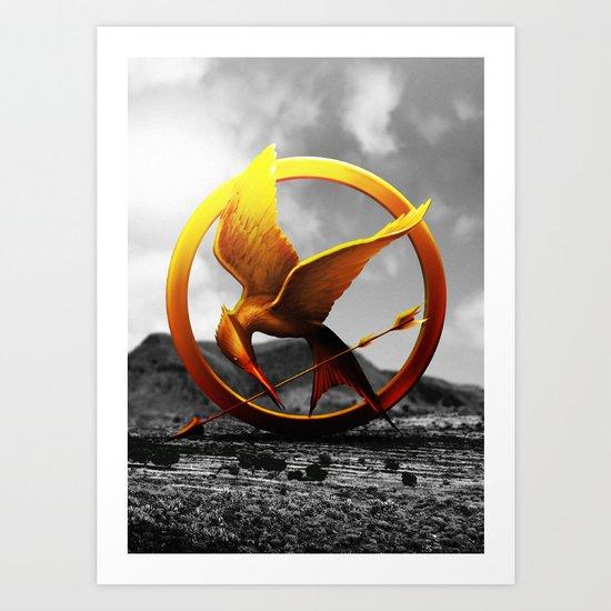 Hunger Games Art Print