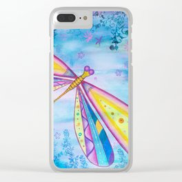 Dragonfly IV Clear iPhone Case