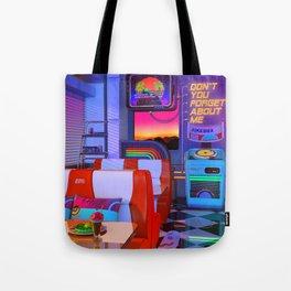 Retrowave Dine & Dream Tote Bag