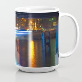 Floating Aqua Lighting Coffee Mug