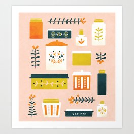 Leftover Lovlies Art Print