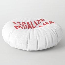 Legalize Marinara Funny Italian Food Pun Floor Pillow