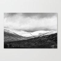 scotland Canvas Prints featuring Scotland by RAWaterman