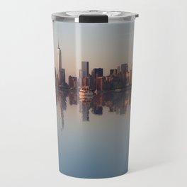 New York nightfall Travel Mug