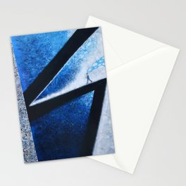 Blue Memories Stationery Cards