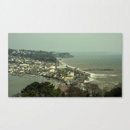 Teignmouth Vista  Canvas Print
