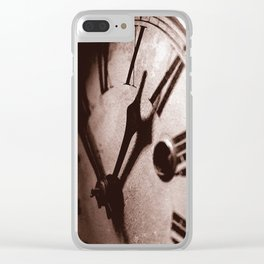 Mysteries of Time Clear iPhone Case