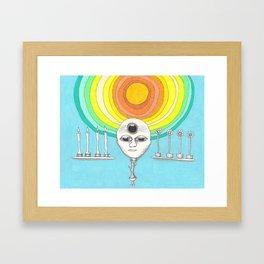 canyourthird eye seeme Framed Art Print