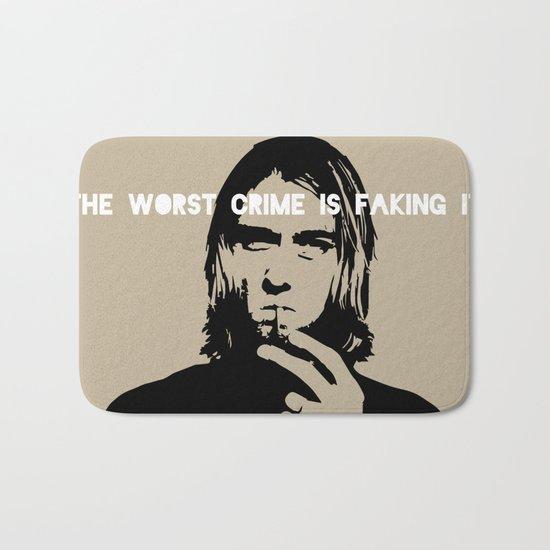 Badass Cobain Bath Mat