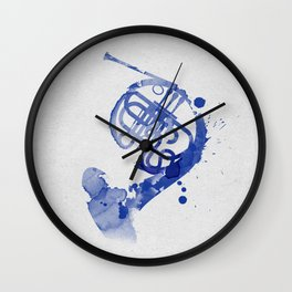 Symphony Series: The Horn Wall Clock